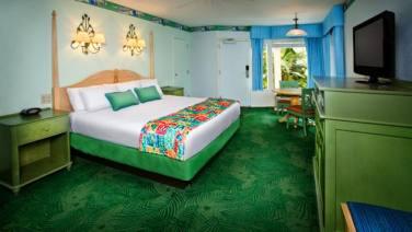 ディズニー・カリビアン・ビーチ・リゾート |キング・ベッド